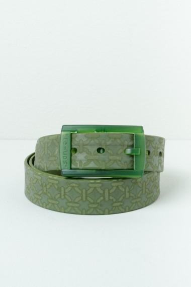 Green belt TIE-UPS with patterns