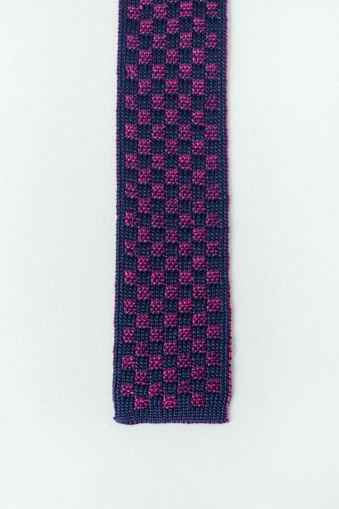 Cravatta RODA blu / fucsia P/E17