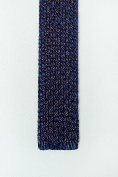 Cravatta RODA blu / marrone P/E17
