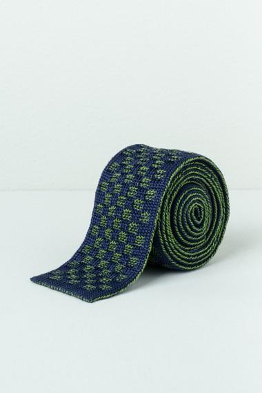 Cravatta RODA blu / verde P/E17