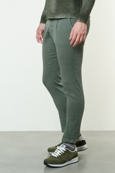 Trousers for man MICHAEL COAL  S/S17