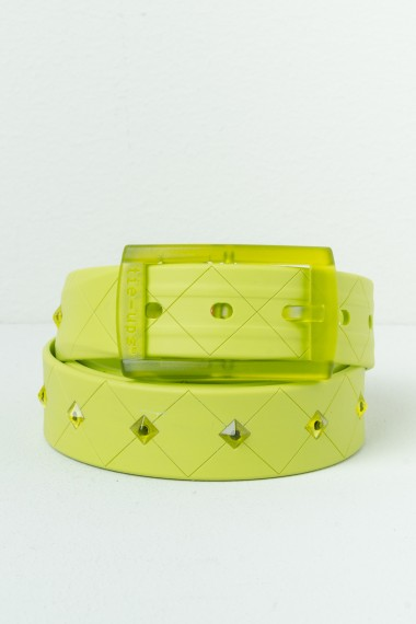 Belt TIE-UPS Acid Green S/S17