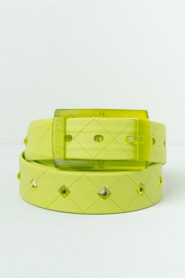 Cintura TIE-UPS Verde acido P/E17