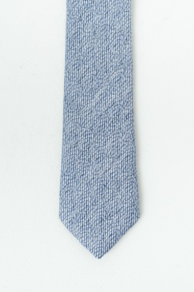 Cravatta RIONE FONTANA Azzurro P/E17