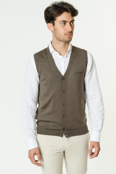 Vest for man PAOLO PECORA F/W 17-18