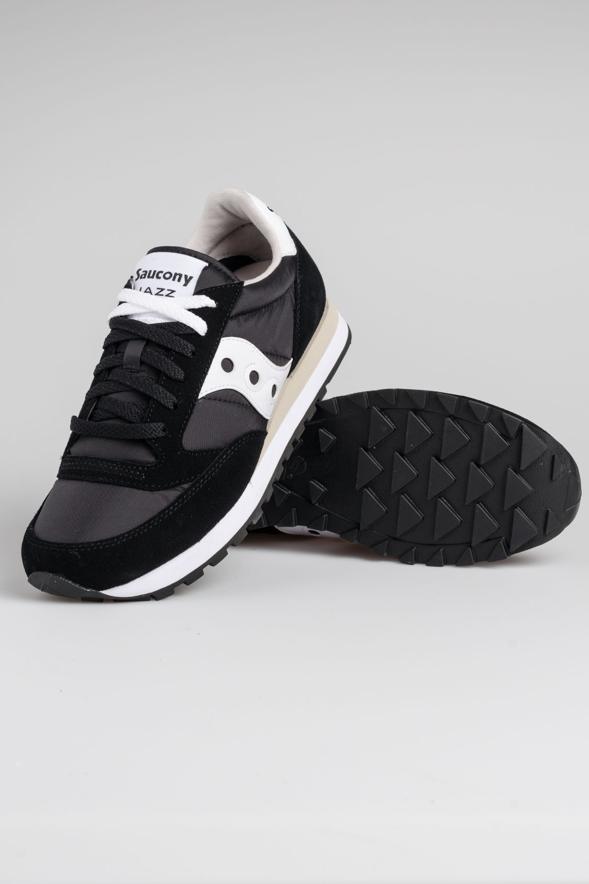 sports shoes d65c4 7824b SAUCONY Jazz O' Black/White Man F/W 17-18 - Rione Fontana