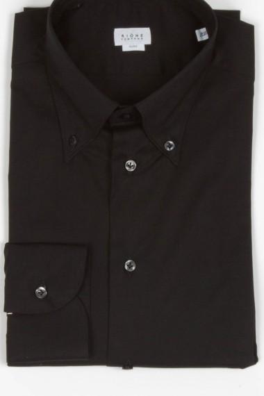 Rione Fontana. Camicia button down nera