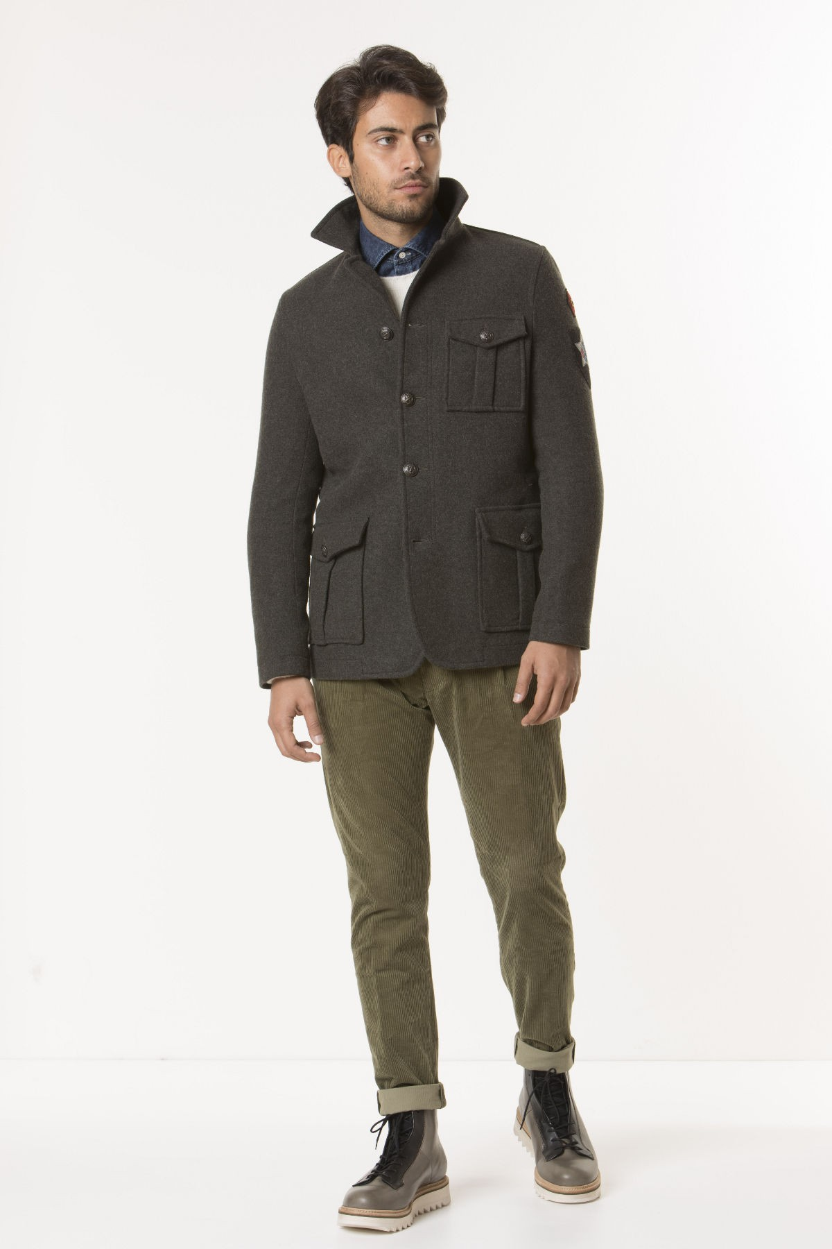 Jacket for man CIRCOLO 1901 F/W 17-18