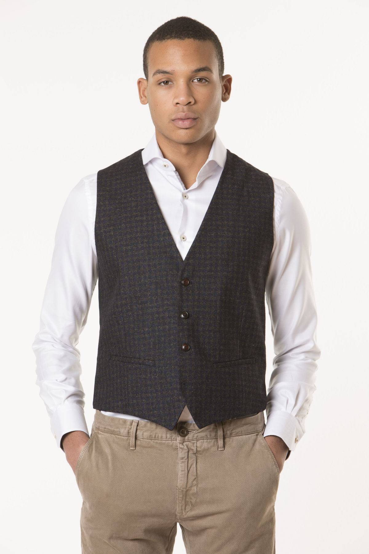 Vest for man RIONE FONTANA F/W 17-18