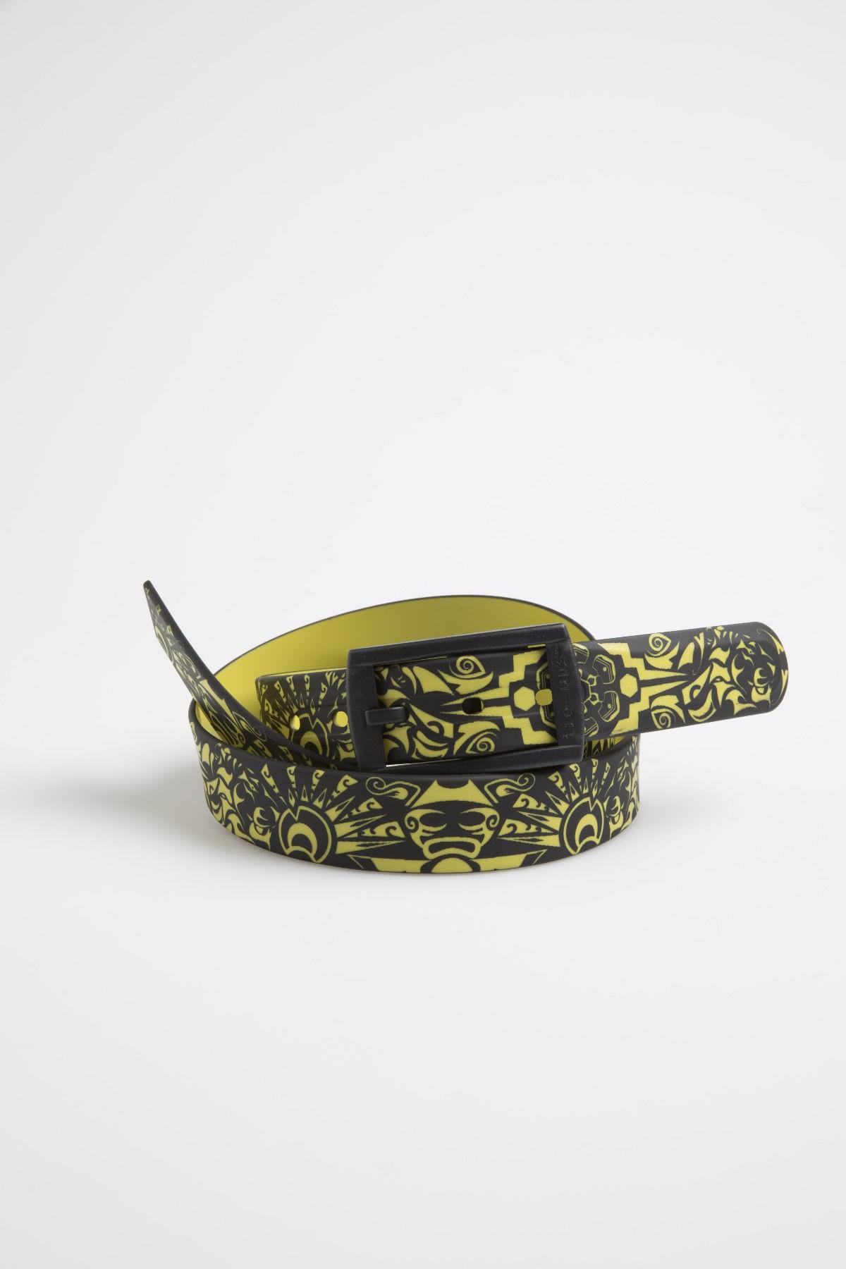 Belt TIE-UPS black/yellow F/W 17-18