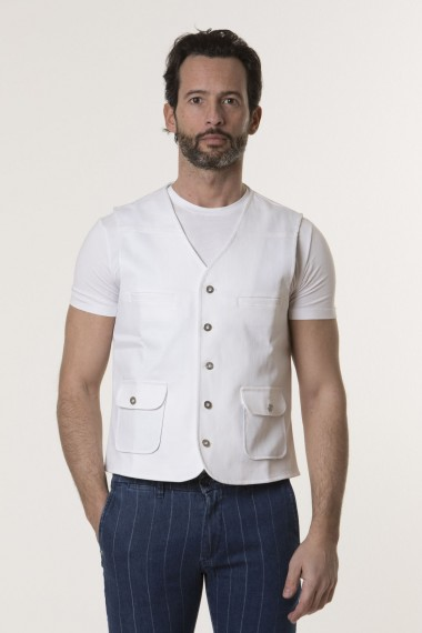 Man Vest RIBBON S/S 18
