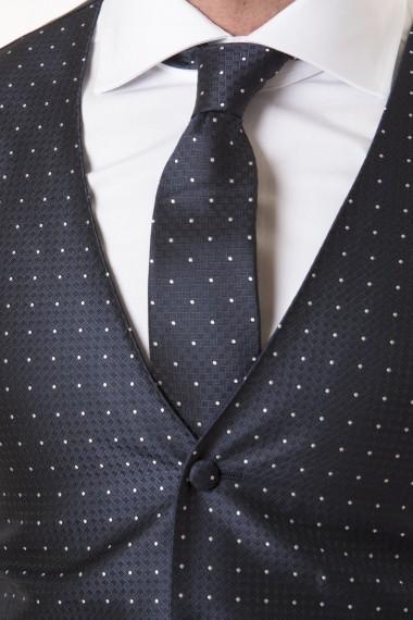 Gilet e cravatta LUIGI BIANCHE MANTOVA P/E 18