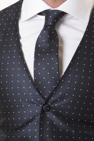 Vest and tie LUIGI BIANCHE MANTOVA