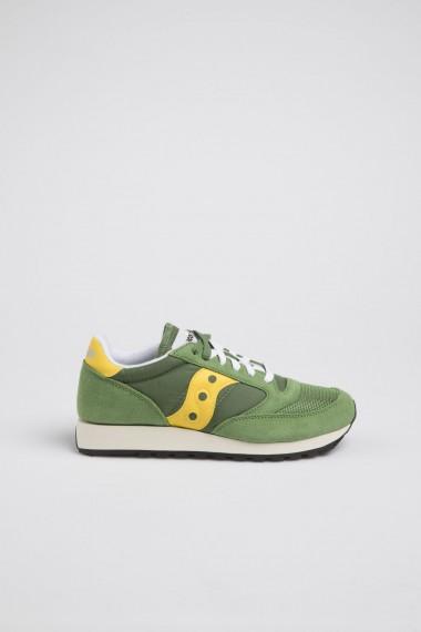 SAUCONY JAZZ O' VINTAGE uomo verde / giallo P/E 18