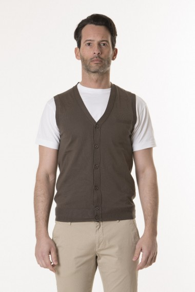 Vest for man PAOLO PECORA S/S 18