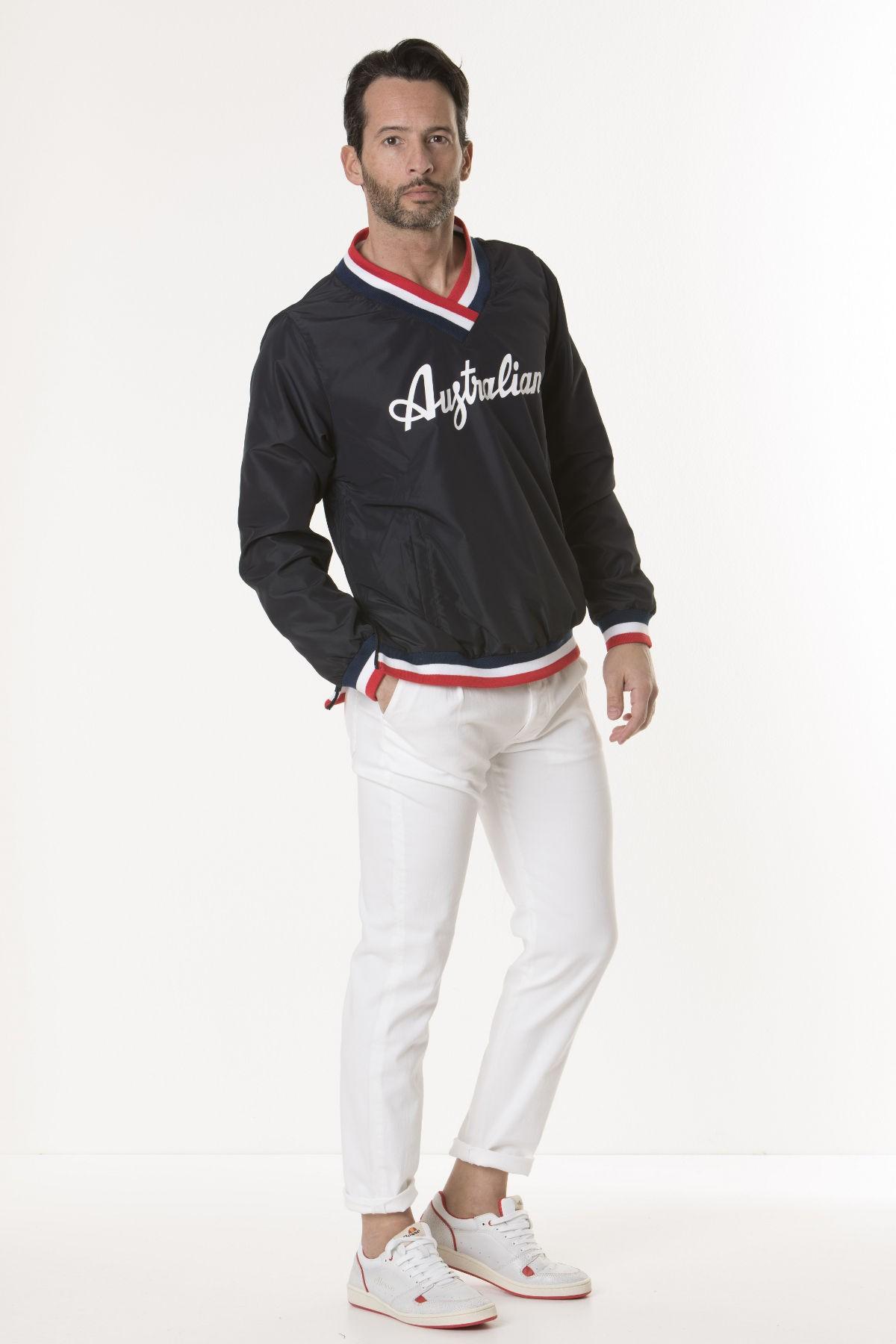 Sweatshirt for man WINDBREAKER RED COURT AUSTRALIAN S/S 18