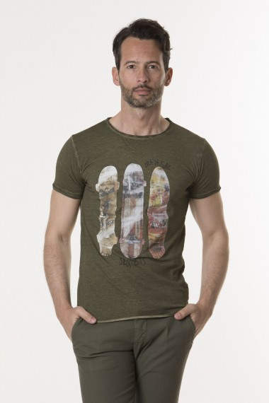 T-shirt per uomo ATHLETIC VINTAGE P/E 18