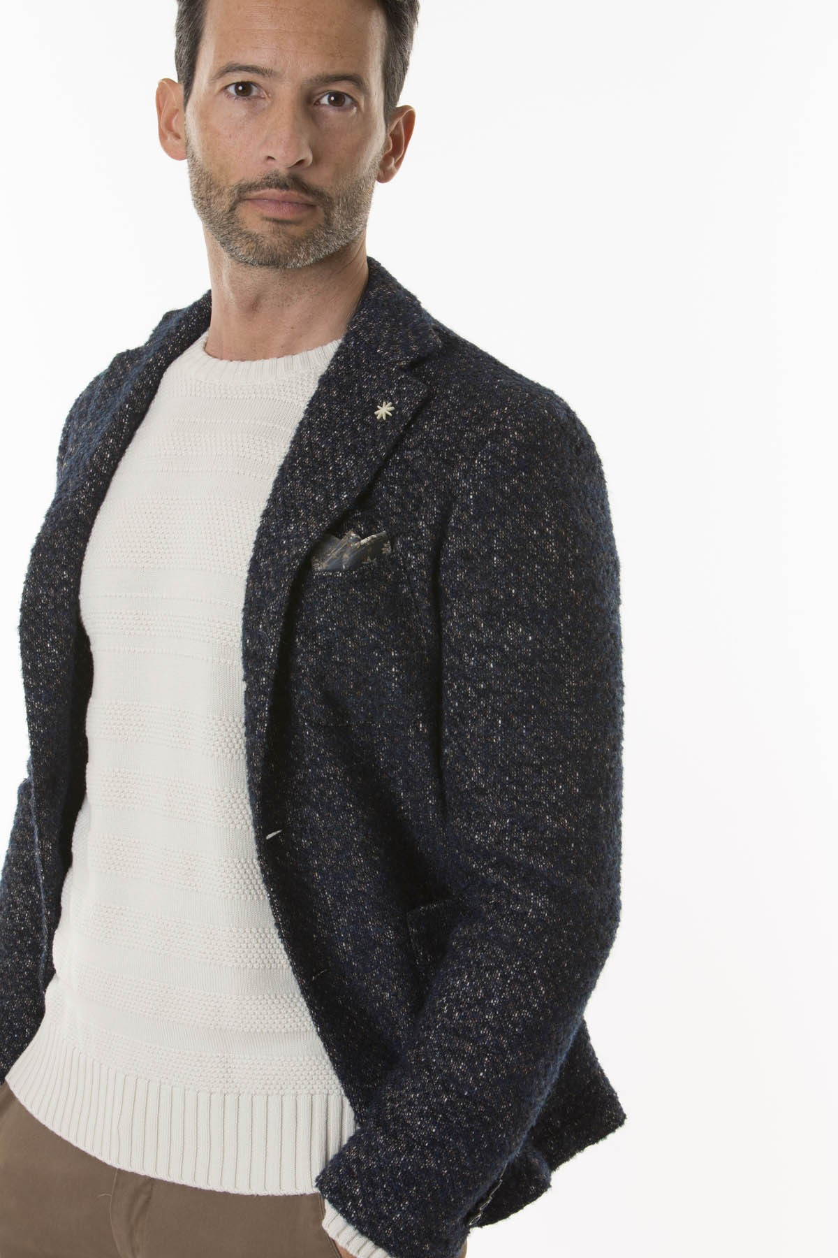 new style 2d5ae d08c2 Jacket for man MANUEL RITZ F/W 18-19