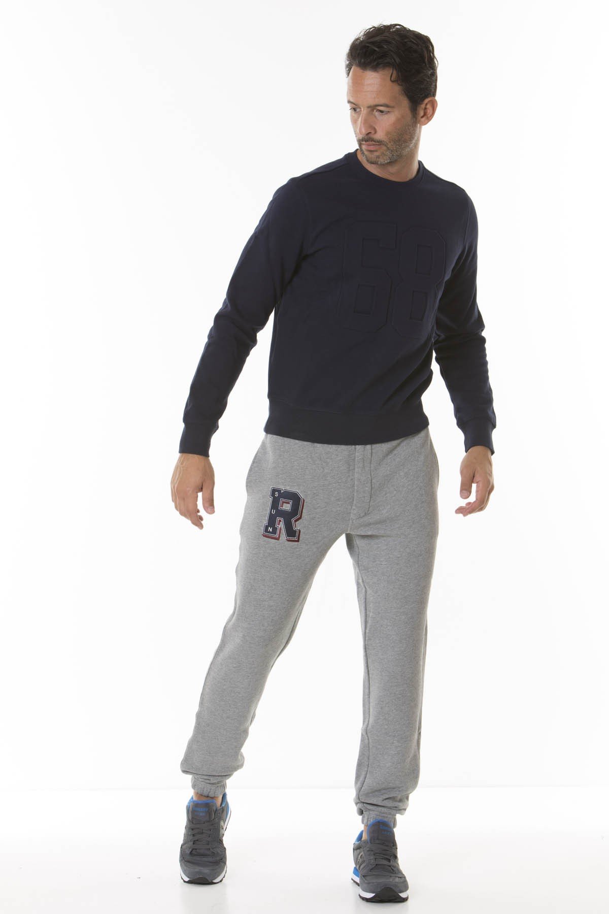 Trousers for man PATCH SPORT SUN68 F/W 18-19