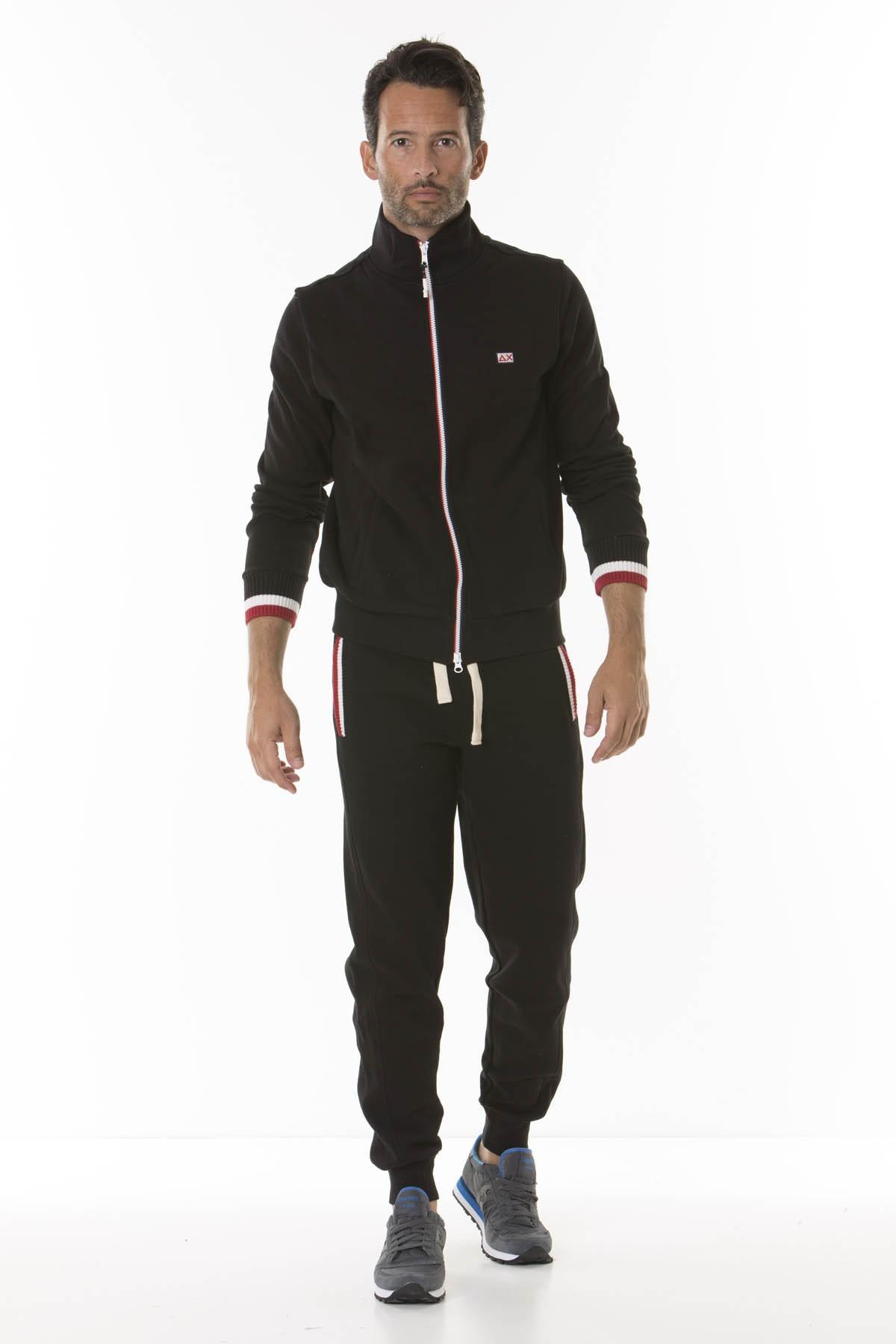 Sweatshirt for man ARMY KNIT RIB COTTON FL SUN68 F/W 18-19