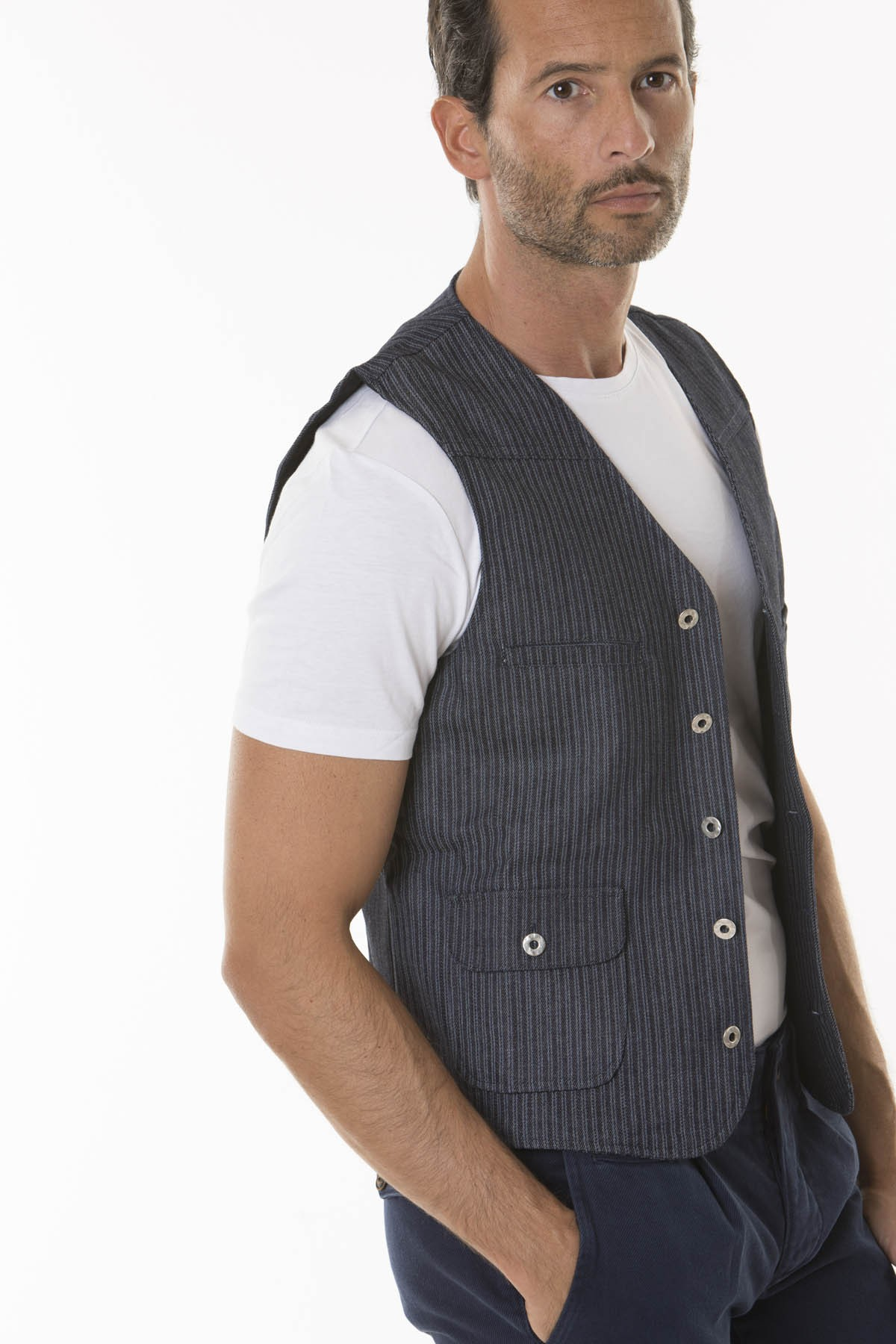 Vest for man RIBBON F/W 18-19