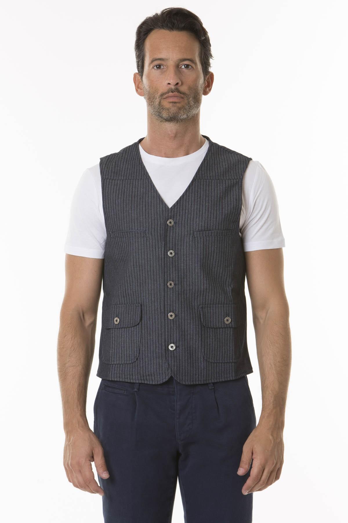 Vest for man R90 RIBBON F/W 18-19