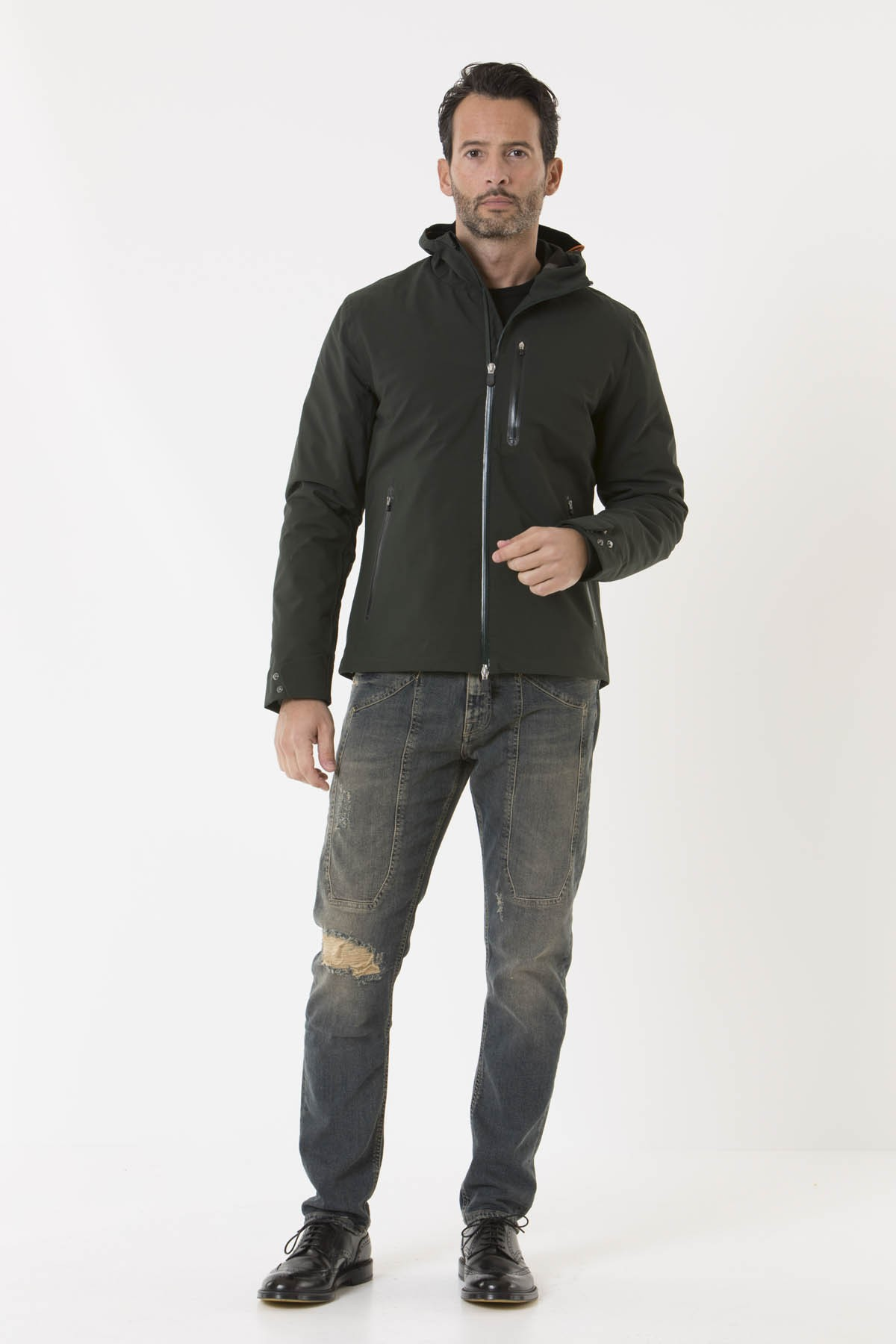Jacket for man D3043M SMEG7 SAVE THE DUCK F/W 18-19