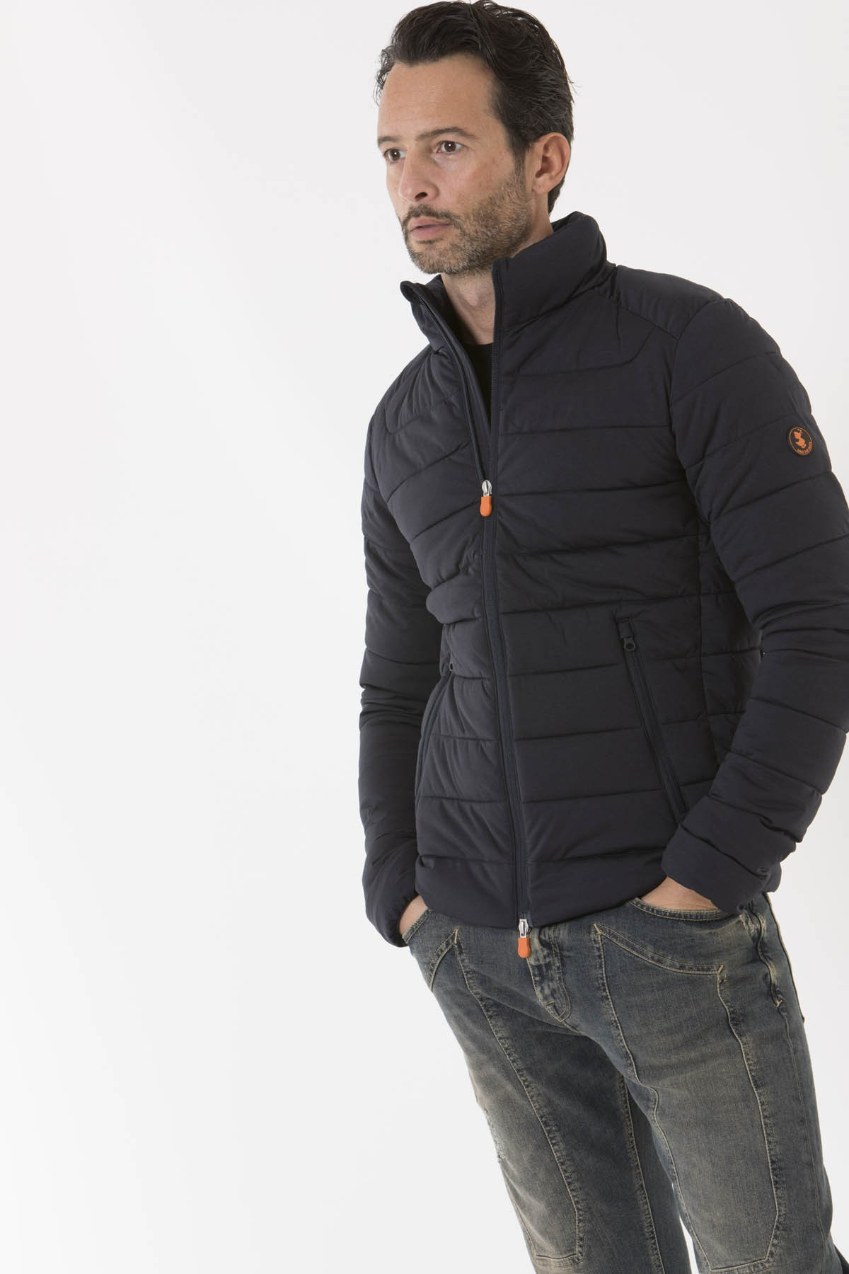 newest 3ef6a 97faf Jacket for man D3642M ANGY7 SAVE THE DUCK F/W 18-19