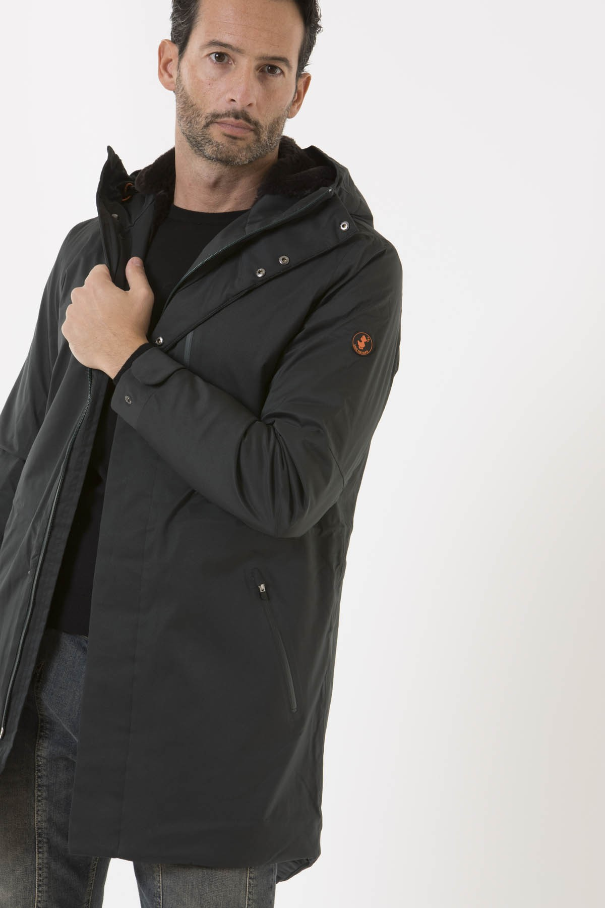 Parka D4344M TWIN7 per uomo SAVE THE DUCK A/I 18-19