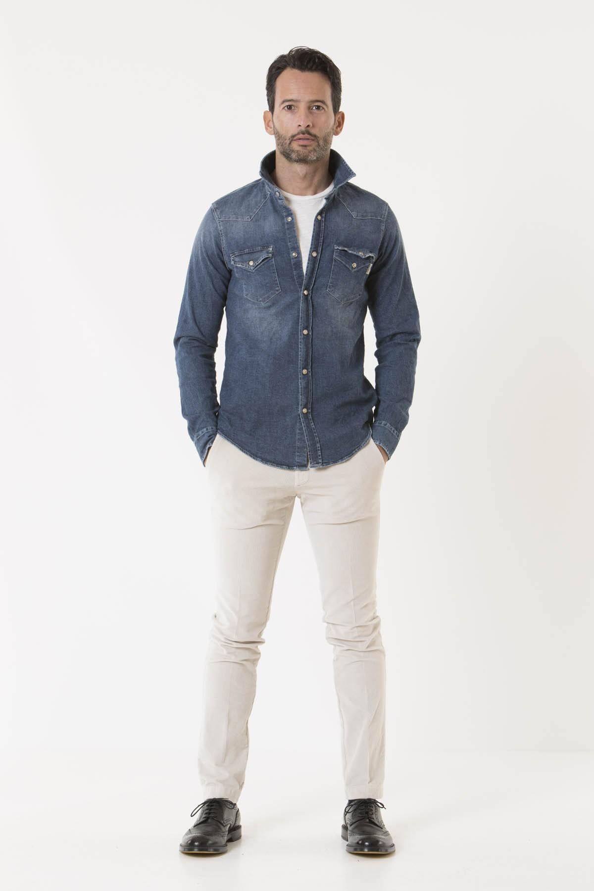 Camicia FOLGER per uomo ROY ROGER'S A/I 18-19
