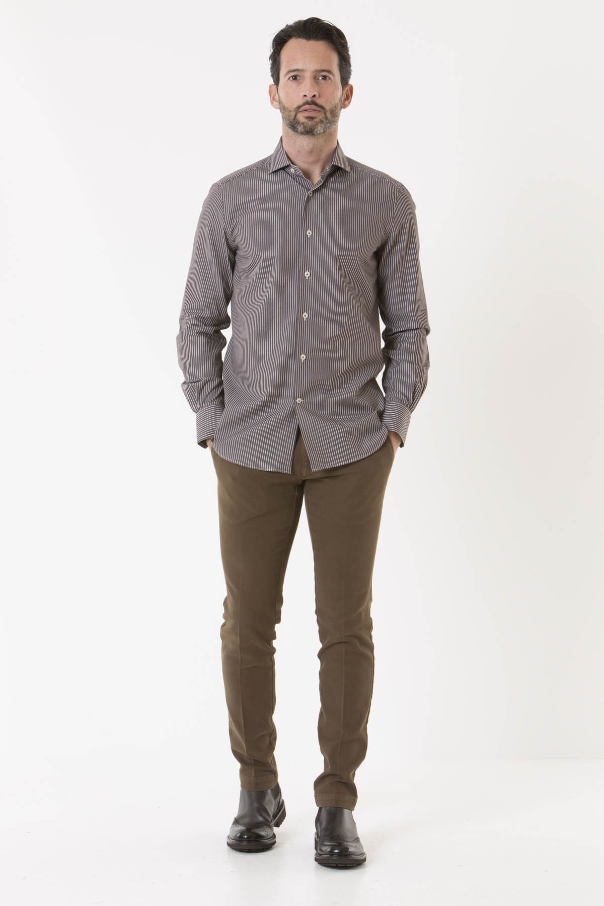 Camicia SIGMA per uomo BORSA A/I 18-19