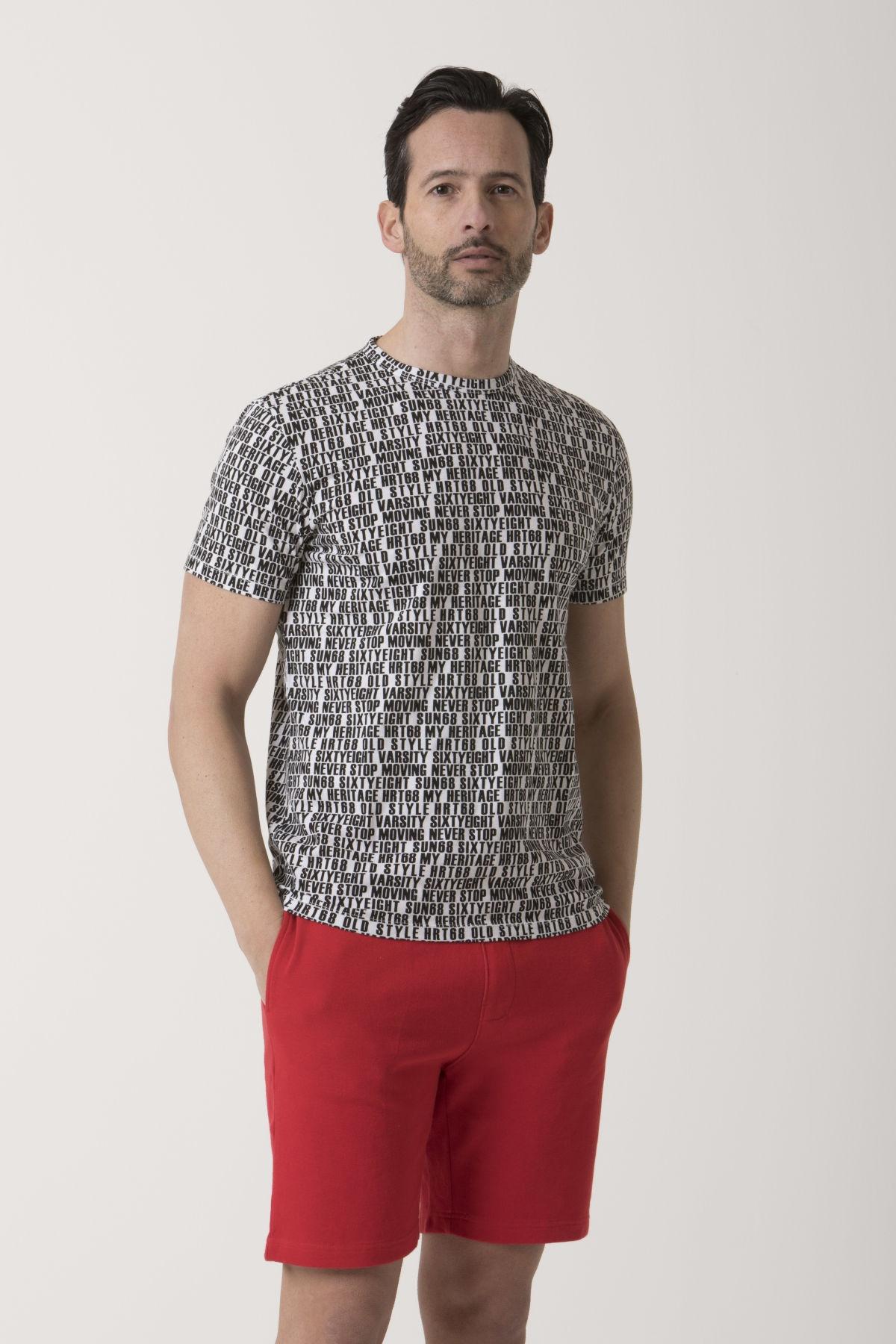 T-shirt for man SUN68 S/S 19