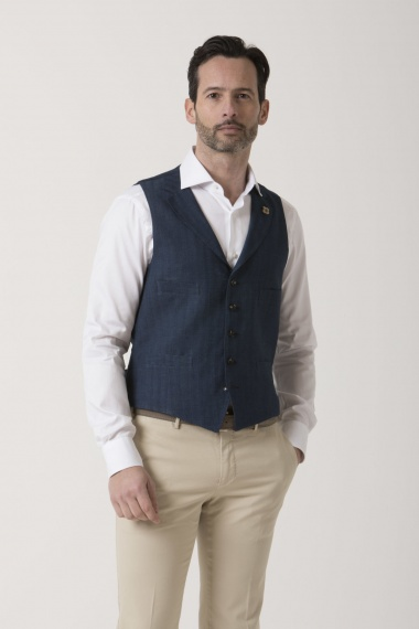 Vest for man LARDINI S/S 19