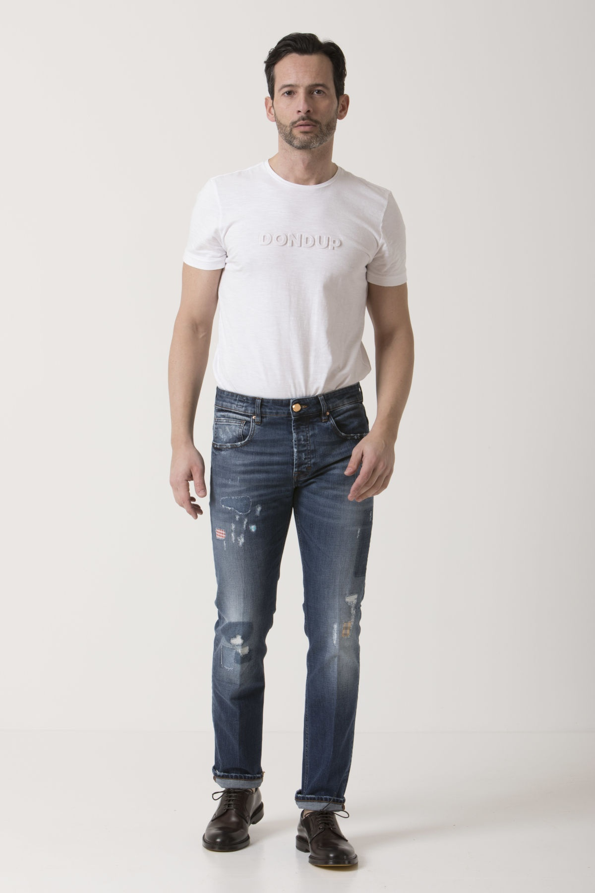 Jeans per uomo DON THE FULLER P/E 19