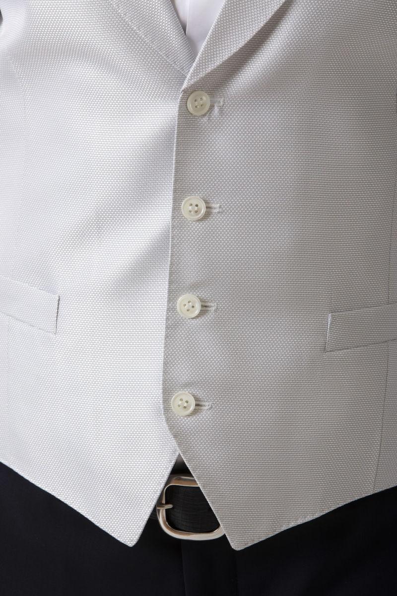 Vest and papillon for man LUIGI BIANCHI MANTOVA