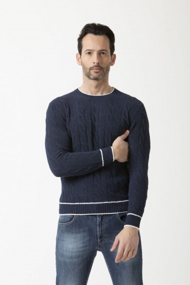 Pullover for man FILIPPO DE LAURENTIS S/S 19