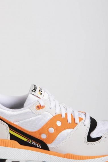 SAUCONY AZURA ST Bianco / Arancione / Nero P/E19