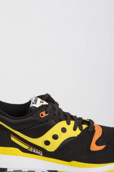 SAUCONY AZURA ST Nero / Giallo / Arancione P/E19