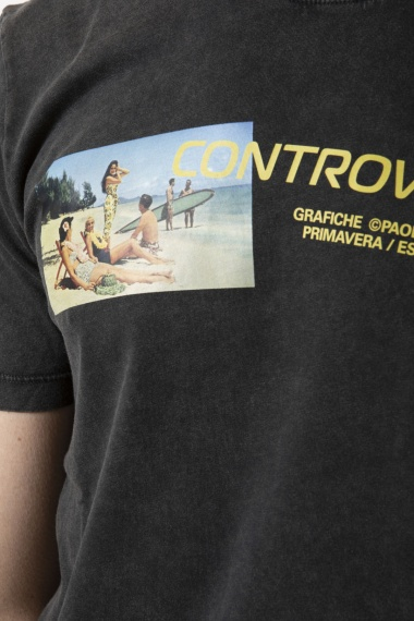 Männer T-shirt PAOLO PECORA P/E 19