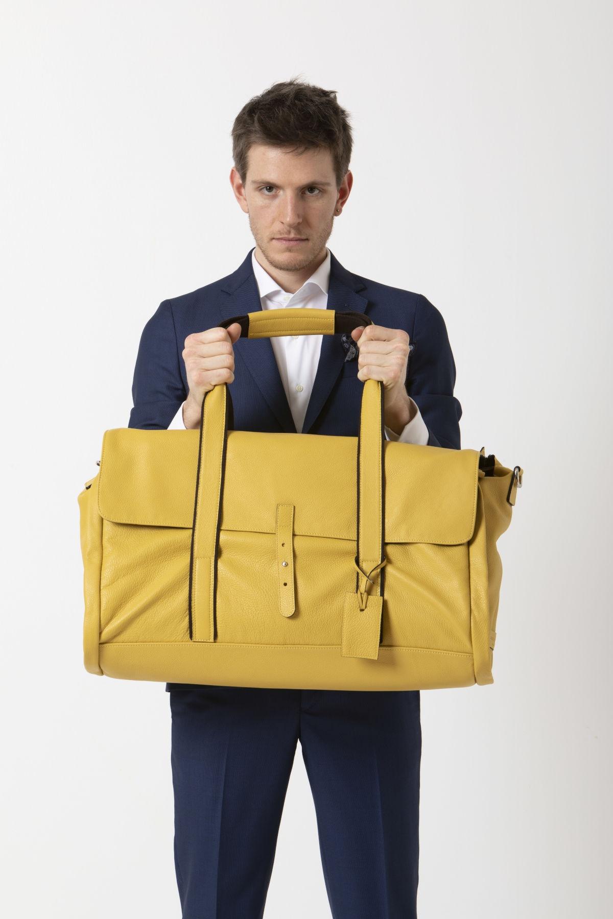 REGINALD Weekender bag LUDOVICO MARABOTTO