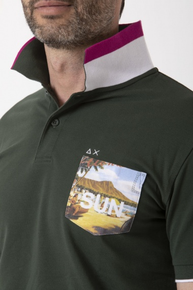 Polo for man SUN68 S/S 19
