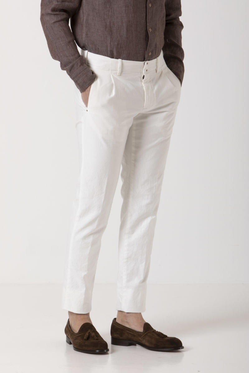 VERVE Trousers for man INCOTEX S/S 19