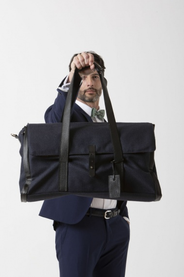 REGINALD Weekend bag LUDOVICO MARABOTTO S/S 19