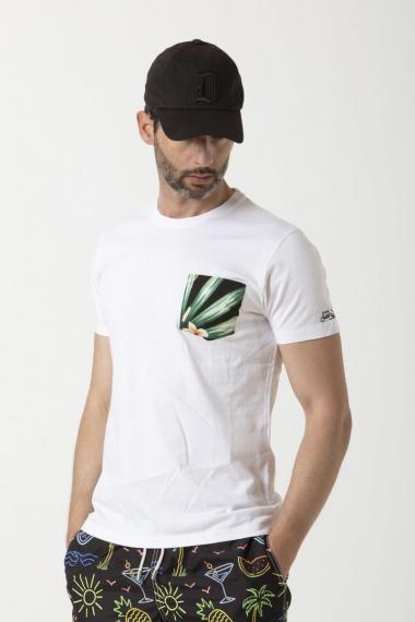 T-SHIRT M/M Modello:BLANCHE Colore:HELICONIA