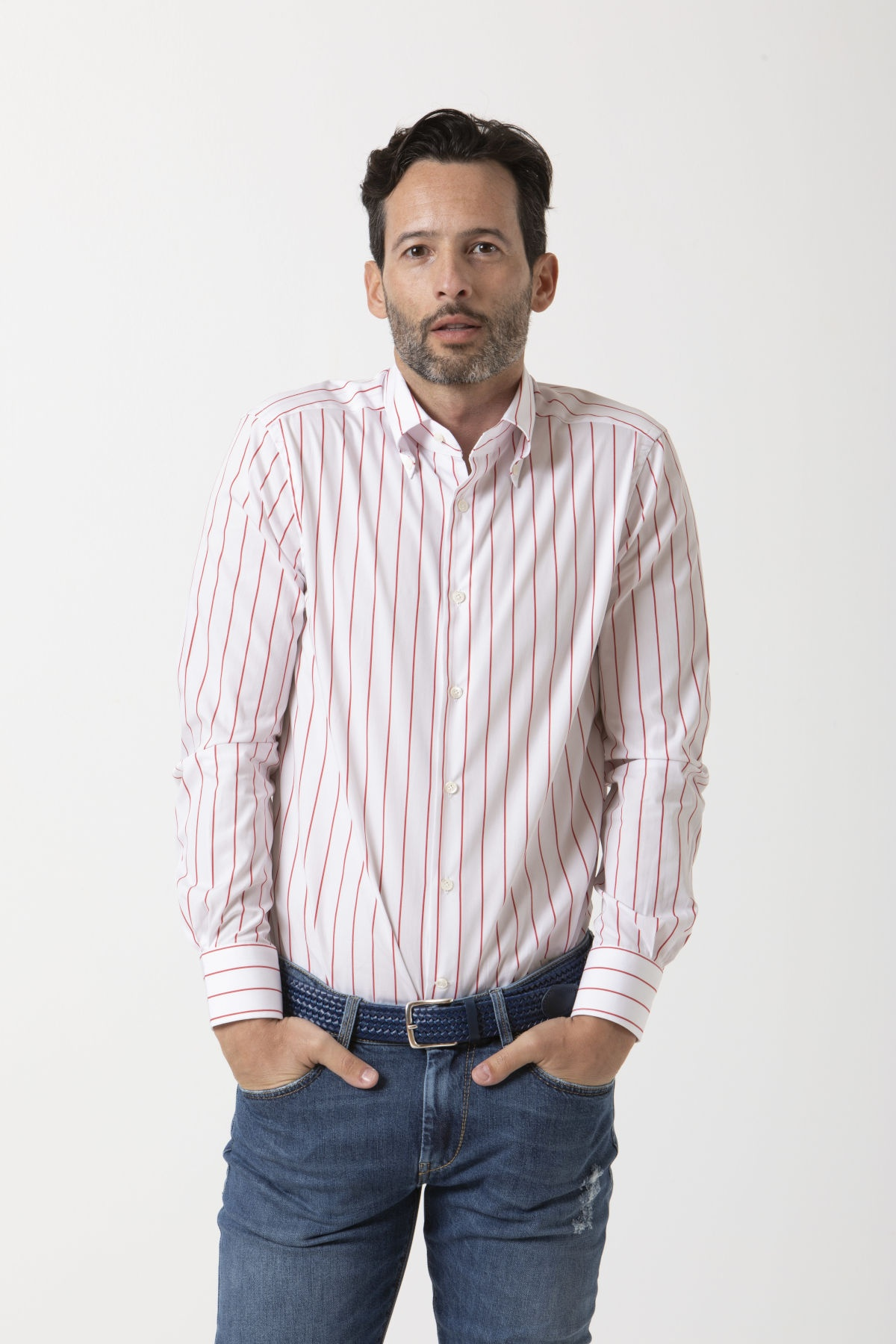 Camicia per uomo BORSA P/E 19