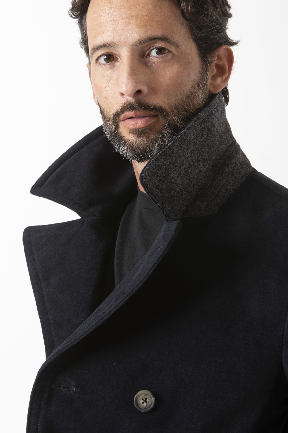 PEACOAT Jacket for man FAY F/W 19-20