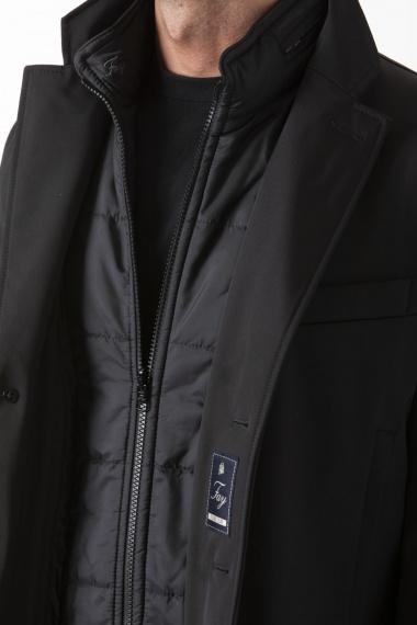 Double Coat Fay nero autunno inverno 2019-2020
