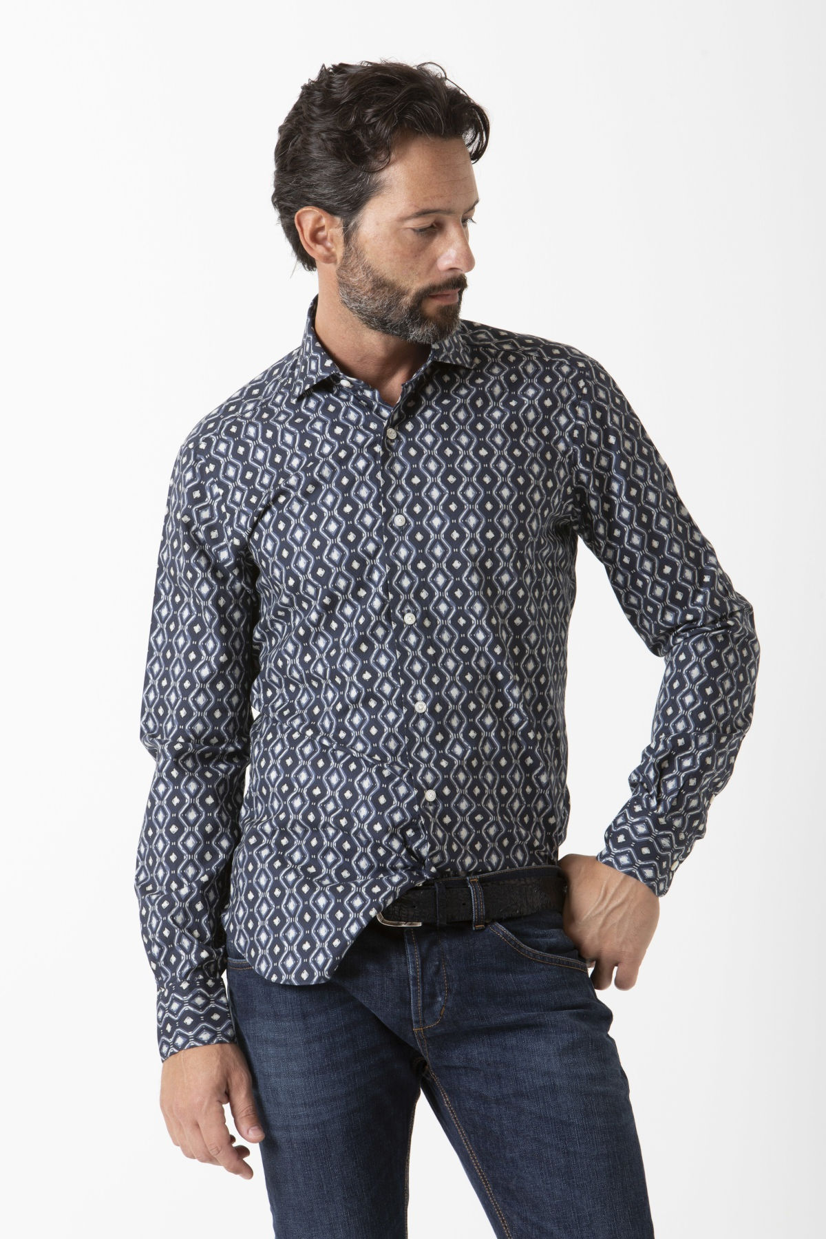 Shirt for man BARBA F/W 19-20