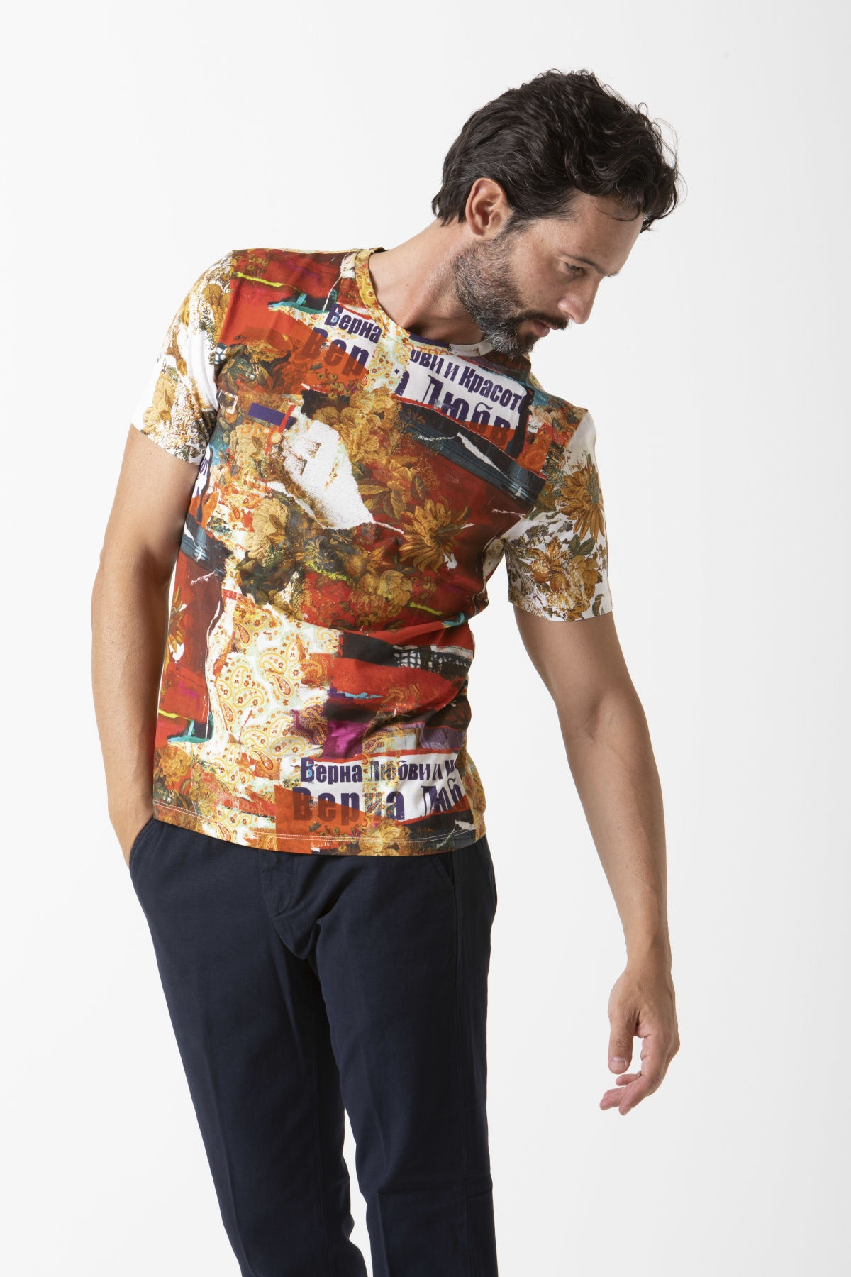 T-shirt for man ETRO F/W 19-20