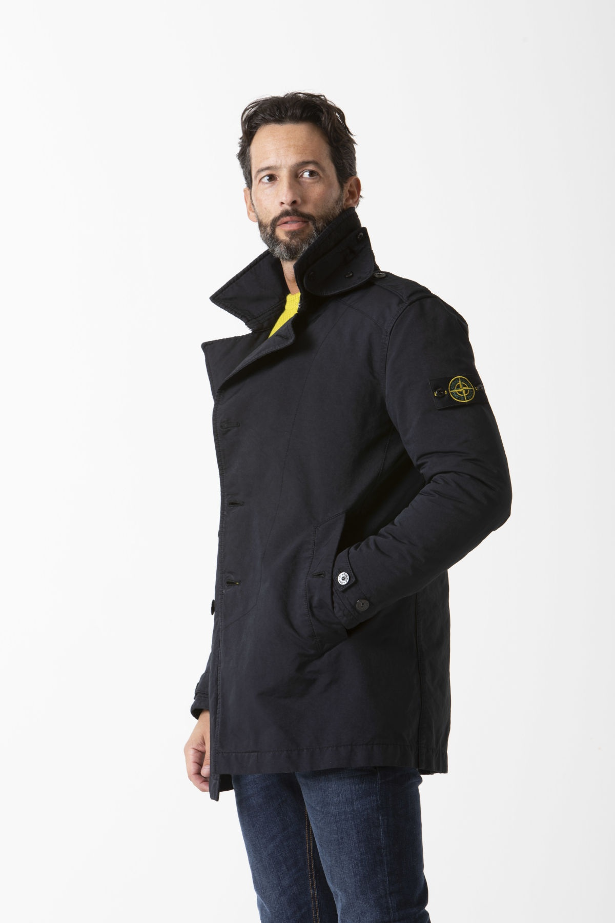 detailed images top-rated newest modern design DAVID-TC WITH PRIMALOFT® INSULATION TECHNOLOGY Trench for man STONE ISLAND  F/W 19-20
